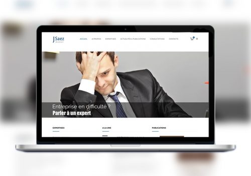 Site Web Jacques Saez Avocat à La Cour De Paris