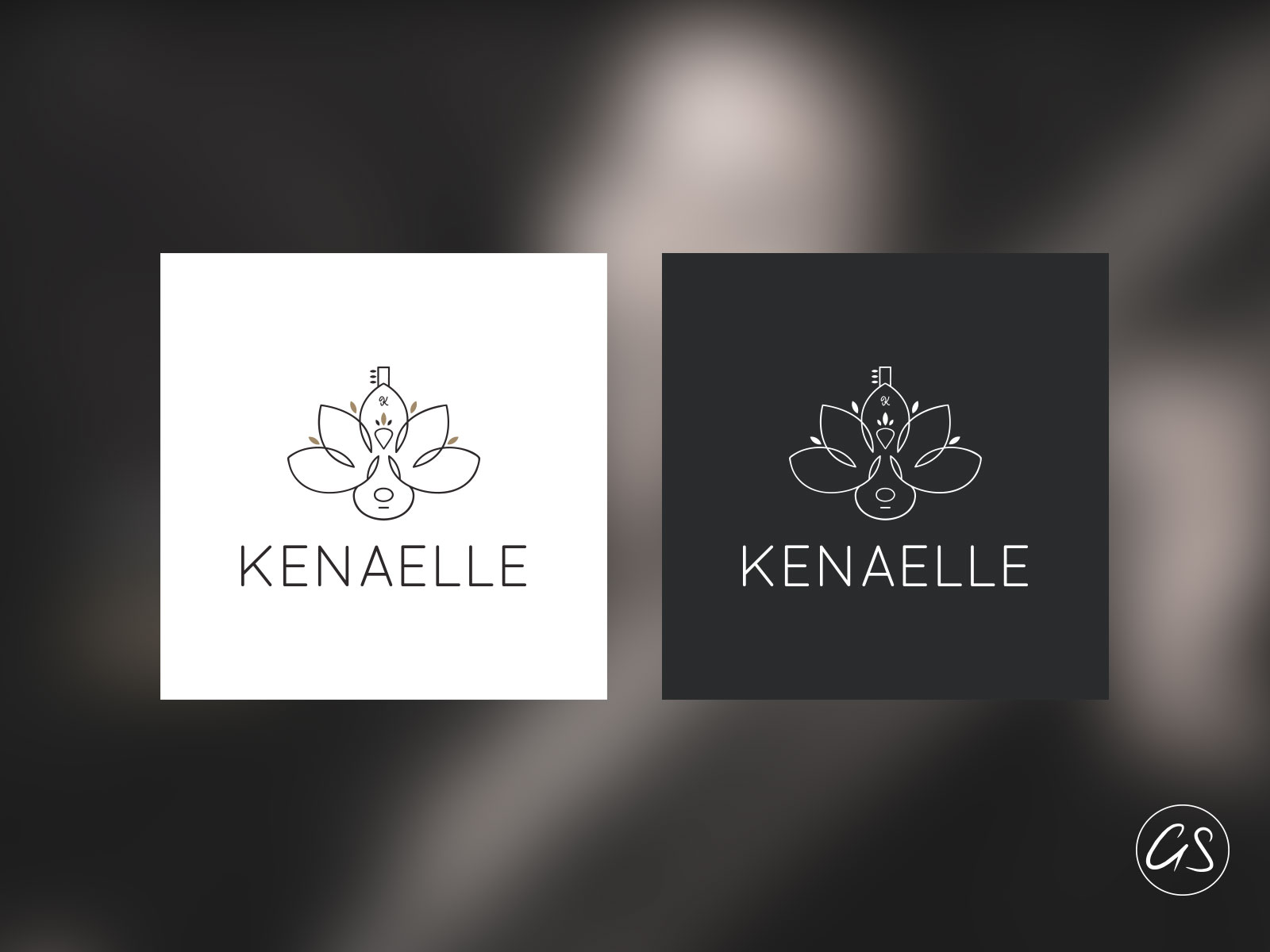 Création Logo Kénaelle - Agence Graphiste 974 -