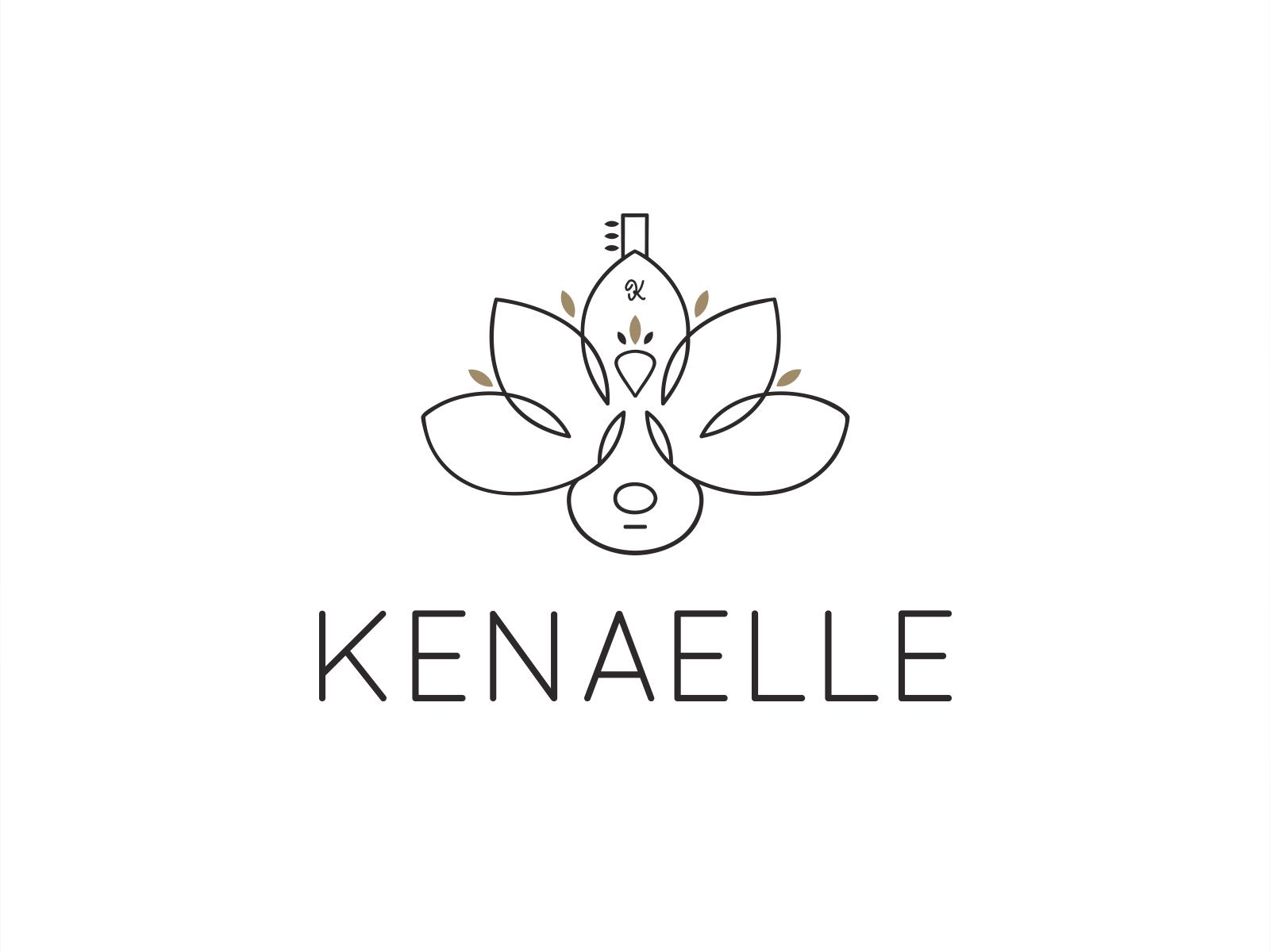 Agence de Communication 974 - Création graphique Logo Kénaelle