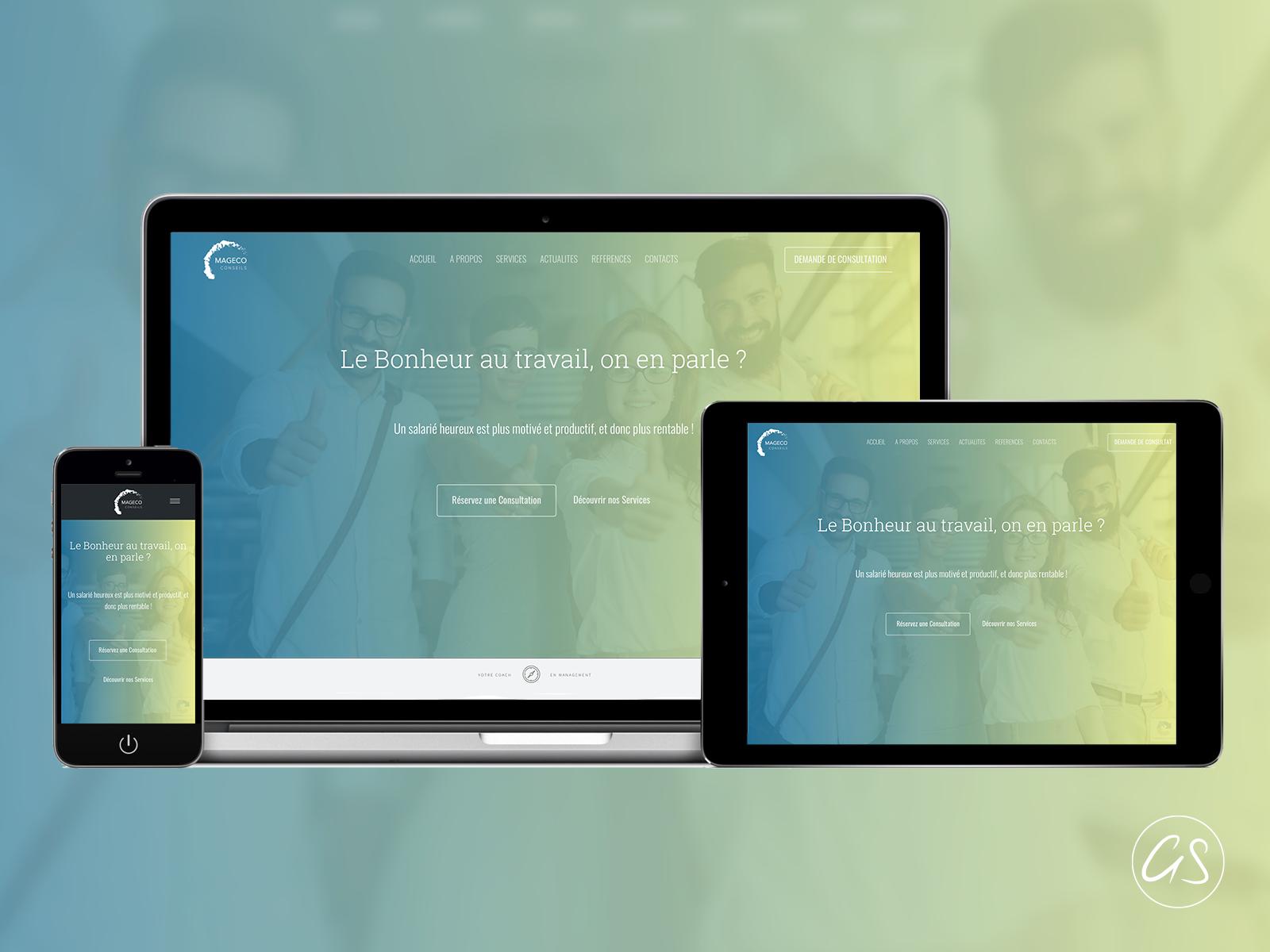 Création d'un site web responsive