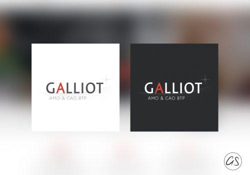 Création Identité Graphique - Logo Bureau Galliot