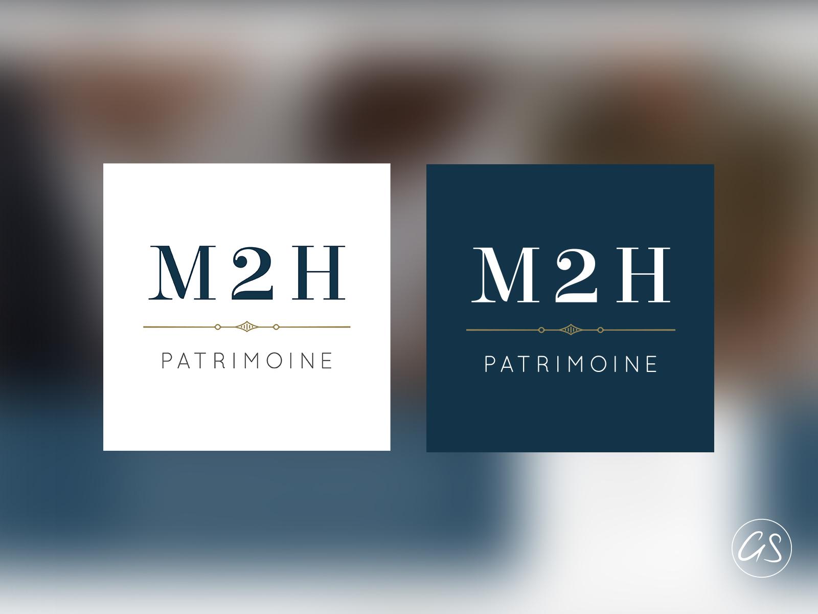 Logos M2H Patrimoine - Agence Immobilier & Gestion du patrimoine