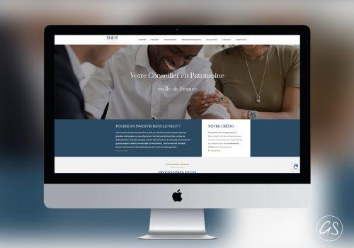 Création De Site Internet D'une Agence Immobilière