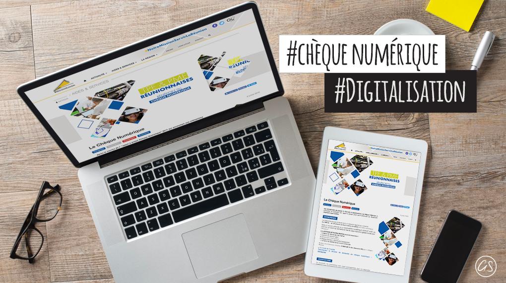 Aide à La Digitalisation Des Entreprises Réunionnaises : Le Chèque Numérique !